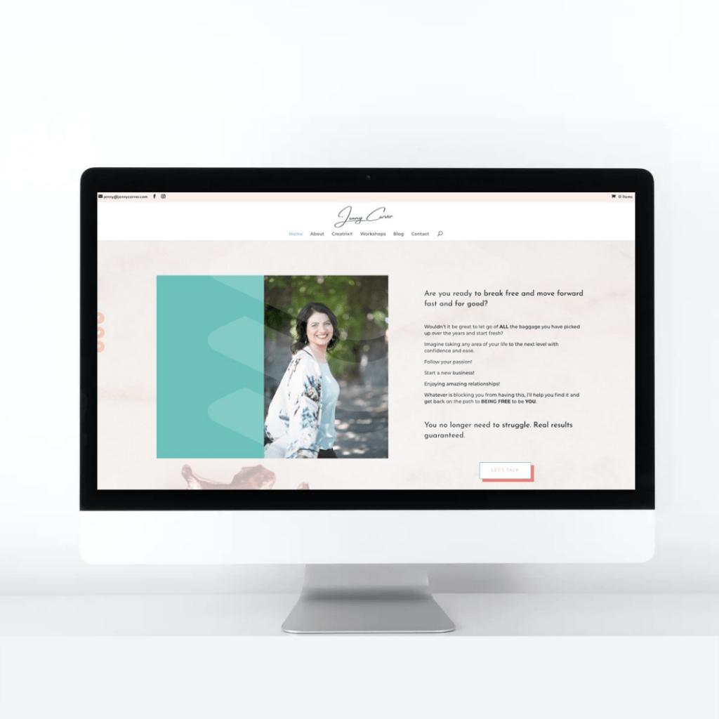 Portfolio Jenny Carver Website