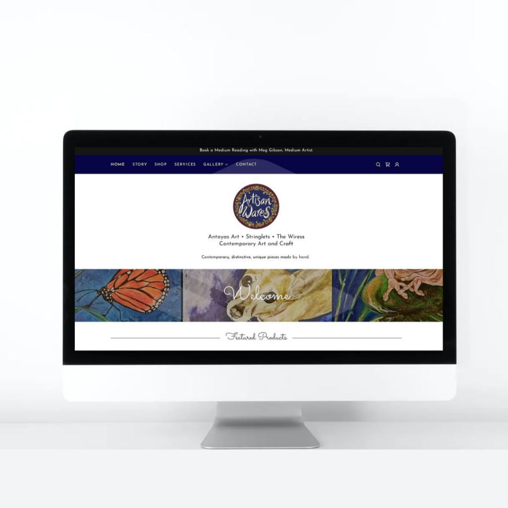 Portfolio Artisan Wares Website
