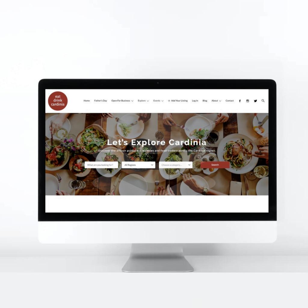 Portfolio Eat Drink Cardinia Website